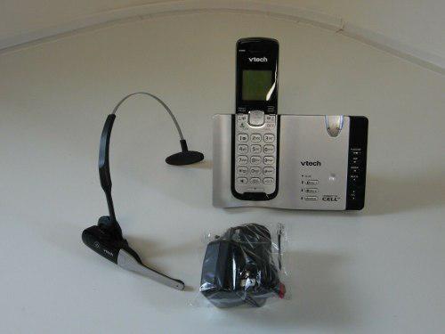 Telefono inalambrico vtech ds6671-3 diadema bluetooth used