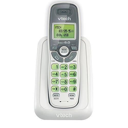 Teléfono inalámbrico vtech dect 6.0 blanco con