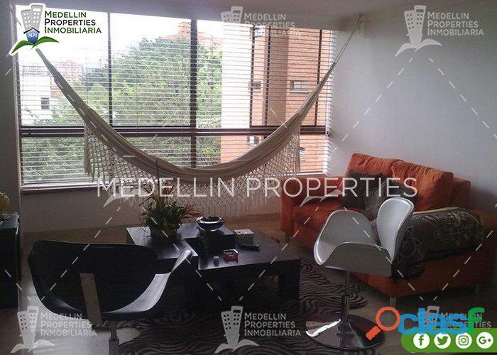 Apartamentos amoblados medellin mensual cód: 4303