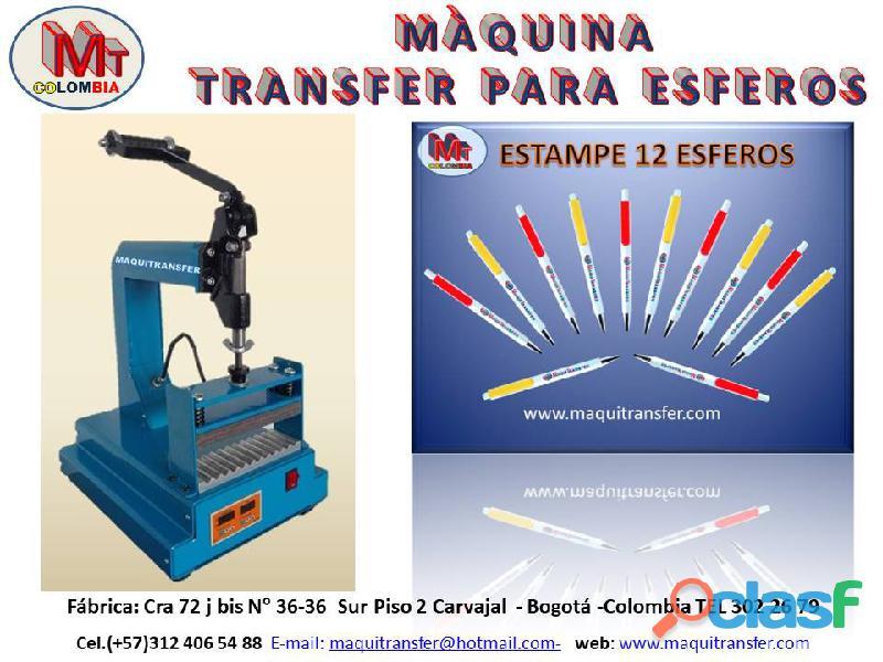 Transfer para estampar esferos a full color