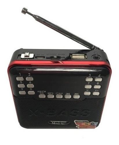 Radio multibandas am fm sw recargable mp3 envio gratis