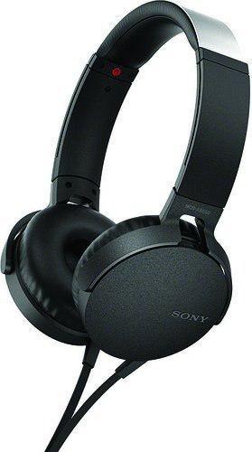 Sony mdrxb550apb audifonos tipo diadema con extra bajos colo