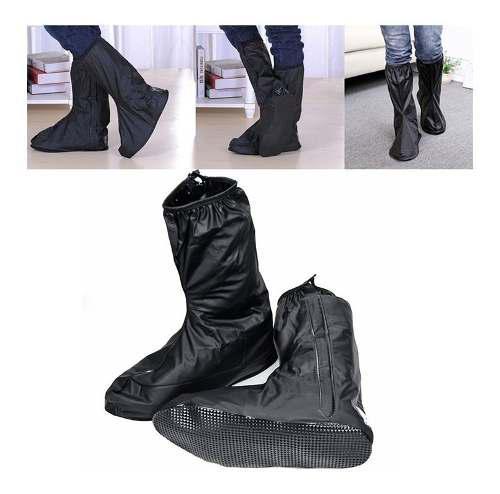 Botas impermeables zapatones para moto bicicleta rf 78b1