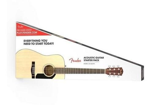 Combo guitarra acustica cd-60s fender