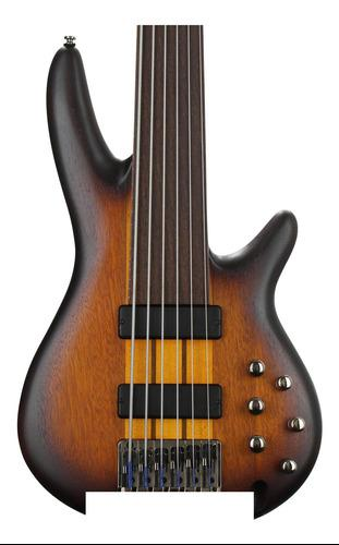 Ibáñez srf706 - brown burst plana.
