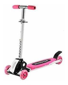 Scooter metalizada monopatín para niños