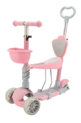 Scooter niños pequeños 5 - 1 asiento ajustable de 2 a 6
