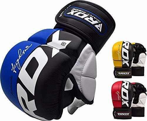 Guantes mma rdx agarre artes marciales saco boxeo guantes