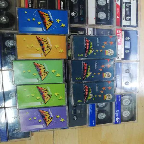 Cassettes casete originales fania