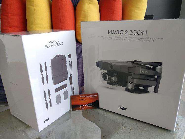 Drone dji mavic 2 zoom combo nuevo con dos baterías extras