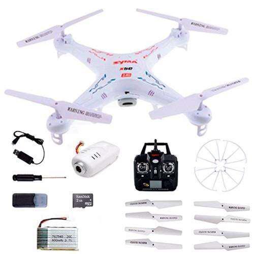 Drone syma x5c con cámara hd 2 mpx
