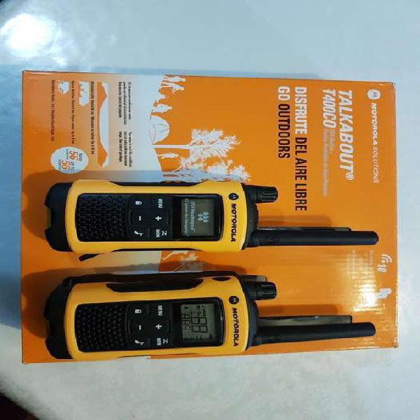 Motorola talkabout series t400 co disfrute del aire libre