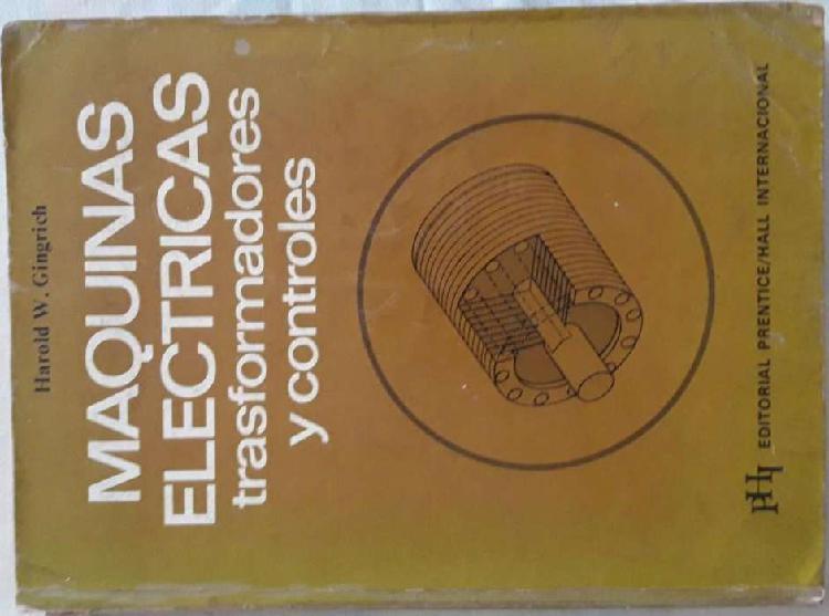 Máquinas eléctricas, transformadores y controles harold