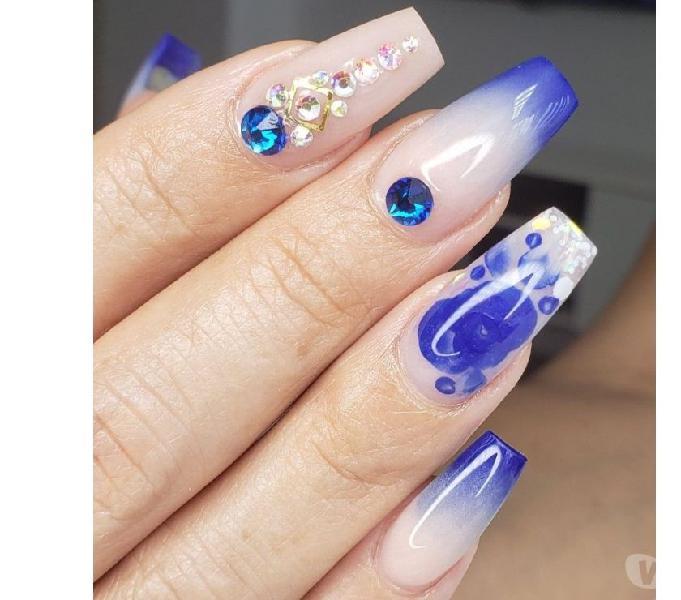 Enseñanza en uñas semipermanentes y acrilicas 3052258733