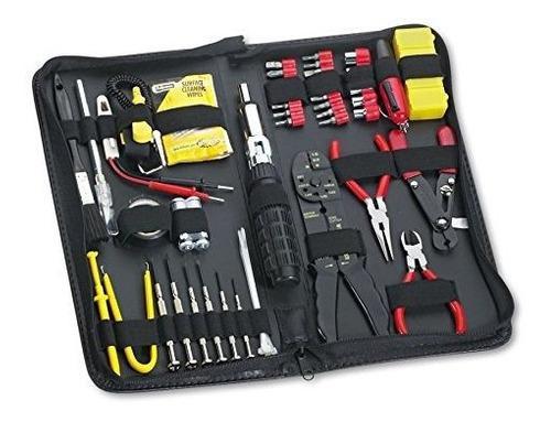 Kit de herramientas informaticas fellowes 55piece negro 4910