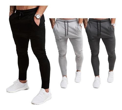 Pantalón sudadera (jogger super pitillo) deportivo/gym /