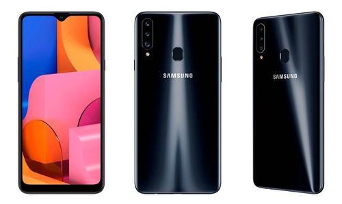 Samsung Galaxy A20s, 32 Gb Memory, 3 Gb Ram. Color, Black.