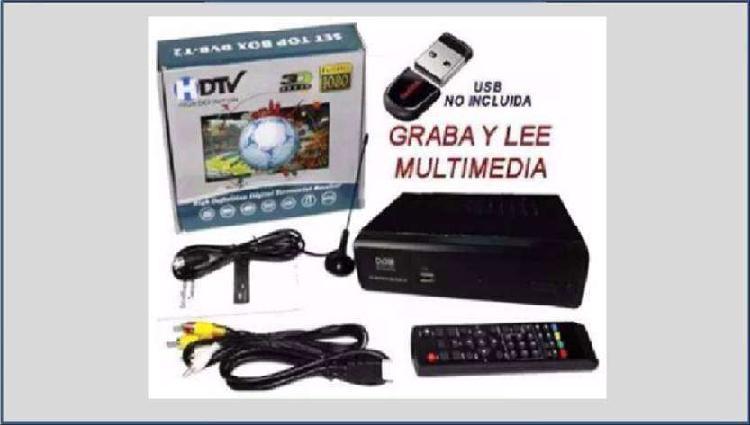Tdt dvb-t2, televisión pública, canales nacionales y