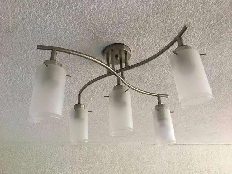 Lampara 5 luces a precio muy económico