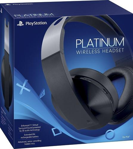 Audífonos sony ps4 platinum wireless heasdet ps4. nuevos