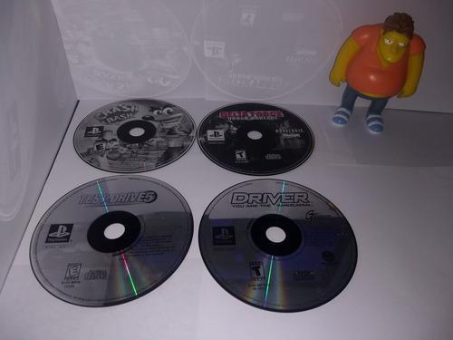 Juegos play station 1 solo los discos cajas genericas