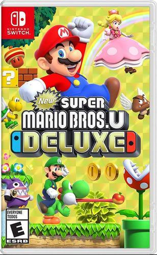 New super mario bros. u deluxe juego fisico sellado.