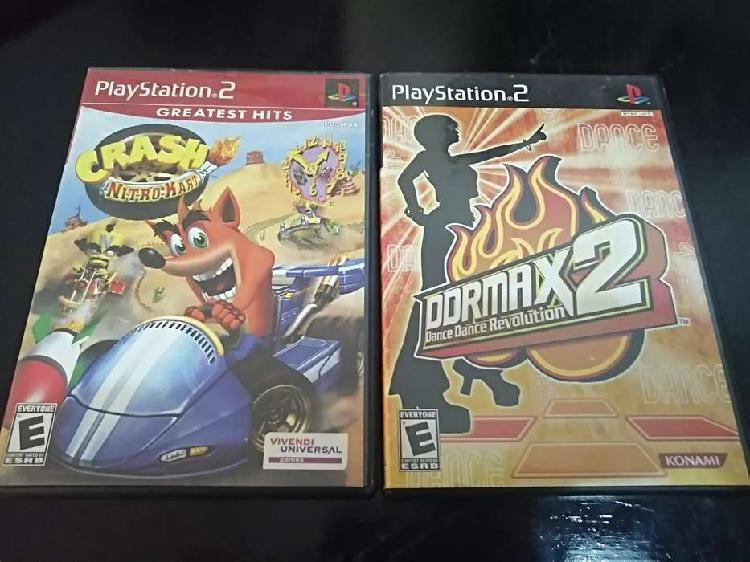 2 juegos originales de ps2 con maules por 50