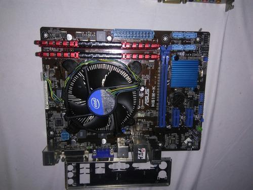 Asus H61m-k Procesador Intel Core I5 3470 Ram 16gb Corsair V