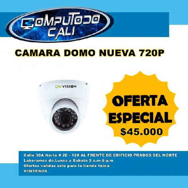 Camara domo 720p onvision nueva