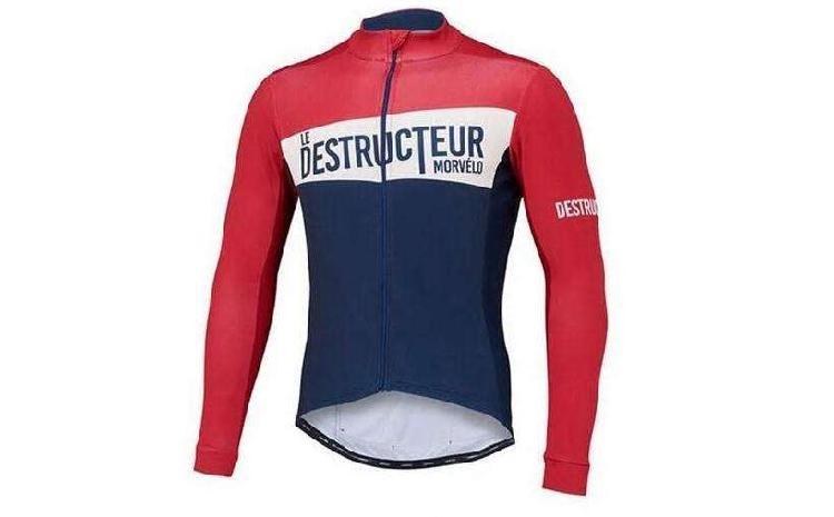 Jersey ciclismo manga larga le tour talla m