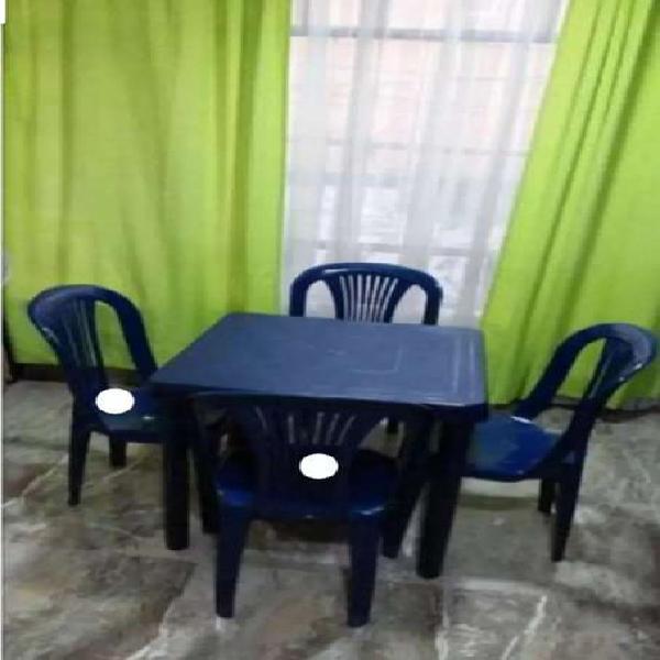 Juegos de mesa rimax con sus sillas