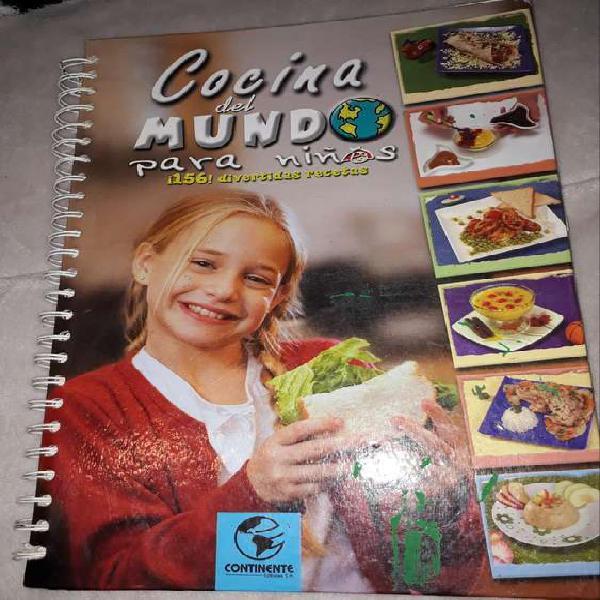 Libro recetario para niños