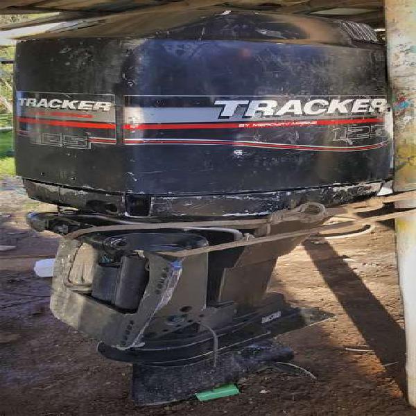 Mercury traker 125 h.p. dos tiempos