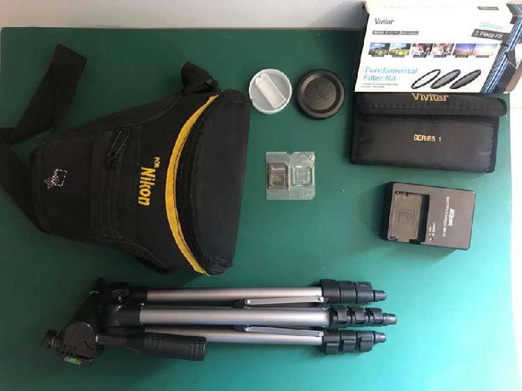 Nikon d3400 - usada [excelentisimo estado] accesorios (2