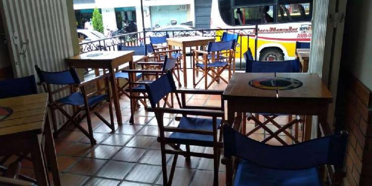 Sillas restaurante usadas- restaurante 40.000