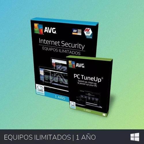 Antivirus avg internet security 2019 ilimitado 1año +