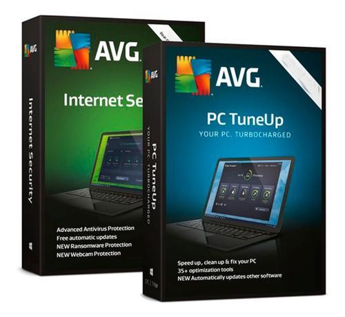 Antivirus avg internet security promo 4 pc - 2 años