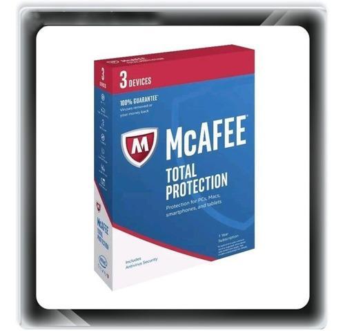 Antivirus mcafee total protection 2020 3 pcs mac andr 1 ano