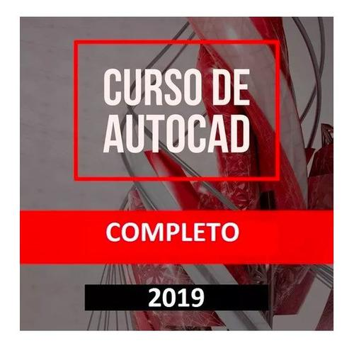 Curso completo en video de autocad 2019