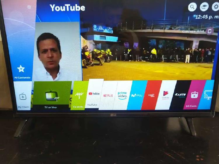 """Lg smart tv 32"""" barato hoy como nuevo con plasticos aun"""