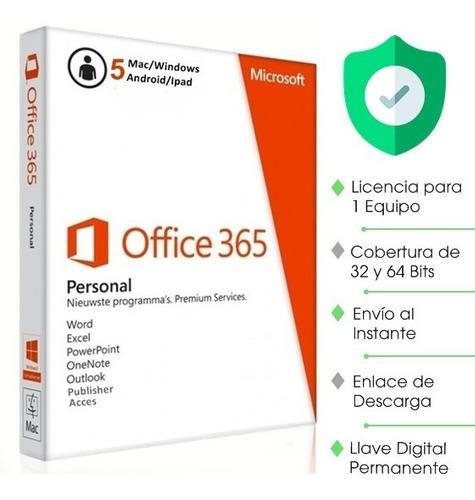 Licencia office 365 retail original permanente