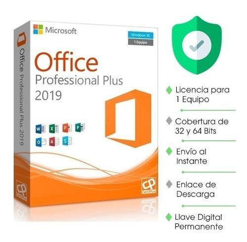 Licencia office pro plus 1pc original mac/ipad 5t permenente