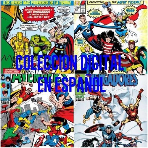 Los vengadores avengers marvel comic digital completa