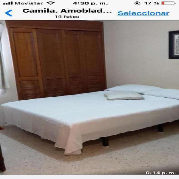 Rento apartamento amoblado en palmeto, cali _ wasi1090059