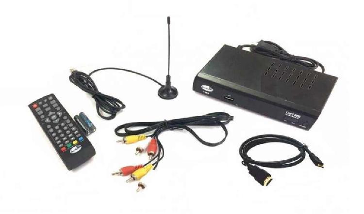 Tdt decodificador tv receptor televisión digital terrestre