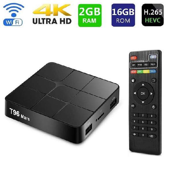 Tv box t96 mars con 2gb ram/16g smart tv cc monterrey local