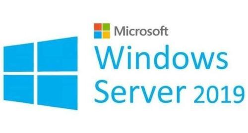 Windows server 2019 servidor dell std o dc x5 user cal