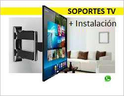 Brazos para tv e instalación, movibles, giratorios,