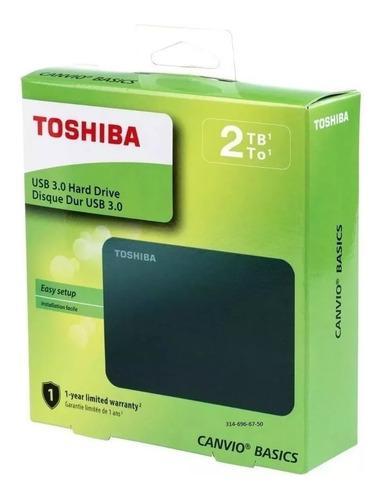 Disco Duro Externo Toshiba 2tb Sin Uso (Reacondicionado)