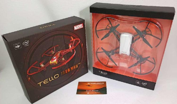 Drone dji tello nuevo y iron man edition al mejor precio
